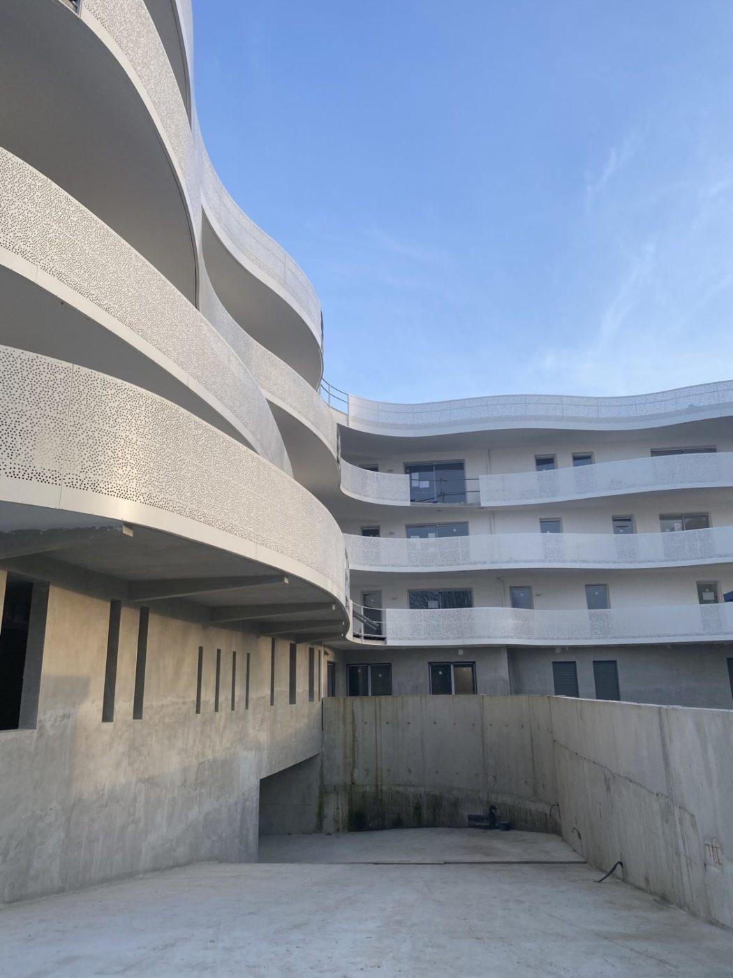 travaux résidence Opalescence Bayonne